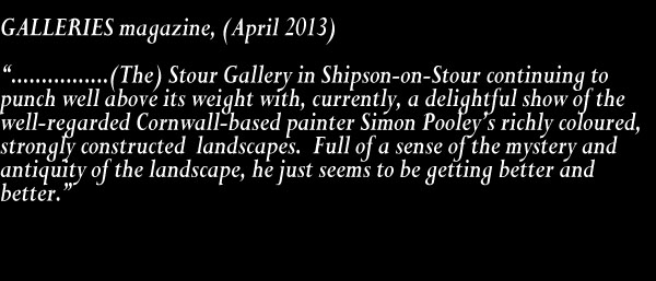 2013 04 GALLERIES magazine review